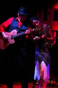 James Van Nuys and Carrie Bartsch