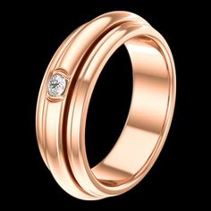 Pink gold Diamond Ring - Piaget Luxury Jewellery G34P6A00