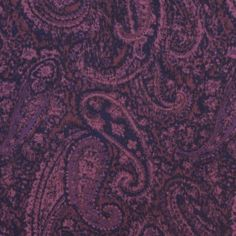 Pink/Purple Paisley Cotton Shirting