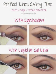 Genius! Eye Makeup Tricks - must know! Beauty Bets