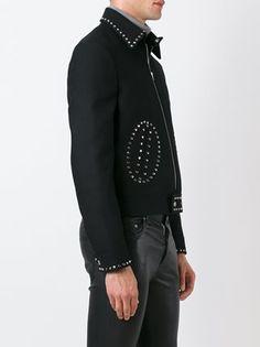 Saint Laurent studded short jacket