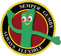 Semper Gumby Marine Corps Icon from MarineParents.com: A Place to ...