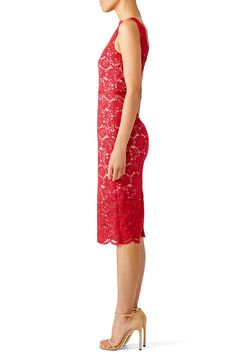 Red Anna Dress by nha khanh for $70 - $95 | Rent the Runway