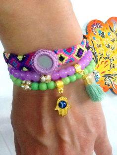 SALEGYPSY  TEARS  bracelet  bohemian bracelet ethnic by Nezihe1