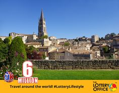 All you need to do is to pack your bags and go! #LotteryDream #lotto #lottery #LotteryOffice