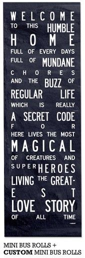 love this quote - totally going to get this on a board & hang it in the living room!