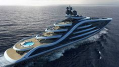 www.YourGlobalAgents.com The yacht features multiple decks, cinemas, a swimming pool, helipad, and more…