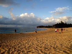 Sunset Beach, Haleiwa, Hawaii; Truly lives up to its name.