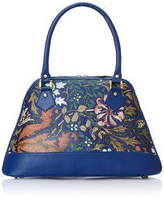 Alessia74 Women's Handbag (Blue) (PBG291E)