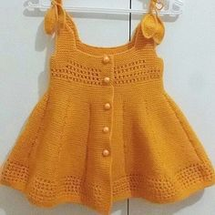 # Quote # knitting ideas # crochet # elite # products # baby # – Daily Posts for Women Baby Cardigan, Knit Baby Dress, Baby Girl Crochet, Crochet Baby Clothes, Baby Girl Dress Patterns, Baby Girl Dresses, Diy Crochet Sweater, Knit Crochet, Knitting For Kids