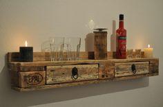 recycelte paletten   ... Paletten Palette divano – Couches aus Paletten Pflanzregal für den