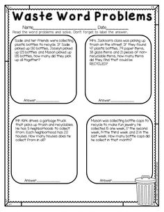 Teach students about Earth Day and also give them practice for solving word problems. Rabbit Regrouping is a fun Easter themed printable that gives students practice with subtracting two 3 digit numbers that involve regrouping.This is part of a Spring Literacy and Math No Prep Bundle for Second Grade that is full of no prep ELA and math printables for the entire season! This unit covers spring, St. Patrick's Day, Easter, Earth Day and Cinco de Mayo!