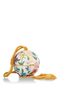 Floral Sphere Minaudiere by HERITAGE AUCTIONS SPECIAL COLLECTION for Preorder on Moda Operandi