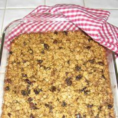 Baked Oatmeal II ~ Amish Recipe ~ Allrecipes.com