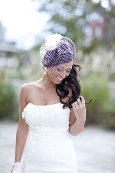 hair down, event design, wedding veils, event planning, birdcage veils, dress, floral event, wedding hairs, bride