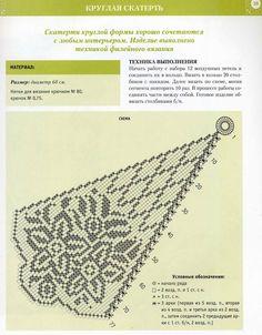 Inspirações de Croche com Any Lucy: Toalhinha de Mesa