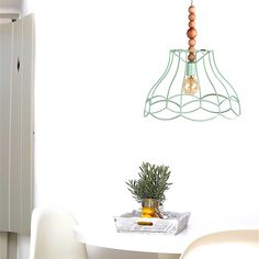 Naked Style Pendant Light by LightingAlchemy! Choose between option and make your own unique Naked Light!