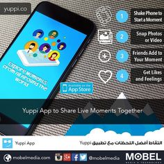 #YuppiApp to Share Live Moments Together #YuppiAround Download @appyuppi for #iOS http://apple.co/1LwD6F1