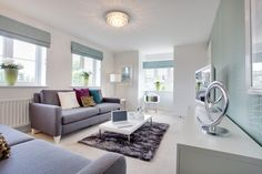 The living room in The Sheringham at Elberry Gardens in Paignton Decor, Bovis Homes, Lounge, Home, House, Room, Living Room, Living Room Wood, New Homes