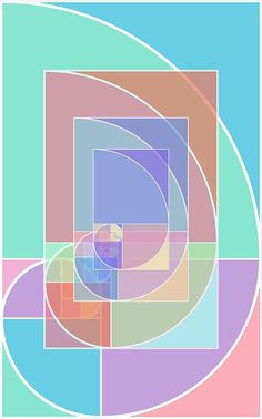 Golden Ratio Abstract Giclee Print by RubinoFineArt on Etsy, $18.00
