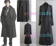 Sherlock Holmes Wool Cape Coat Costume for 2010 UK Mini Drama | eBay