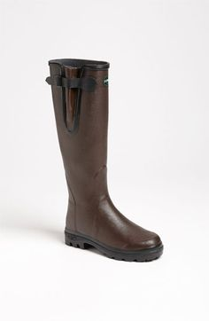 Le Chameau 'Vierzon Lady II' Rain Boot (Women) available at #Nordstrom