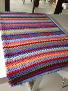 My granny stripe is complete :) by Crochet and Cookbooks, via Flickr