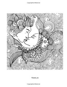 amazoncom adult coloring book relaxation and stress relieving beautiful women coloring designs coloring books for adults zen coloring mermaids