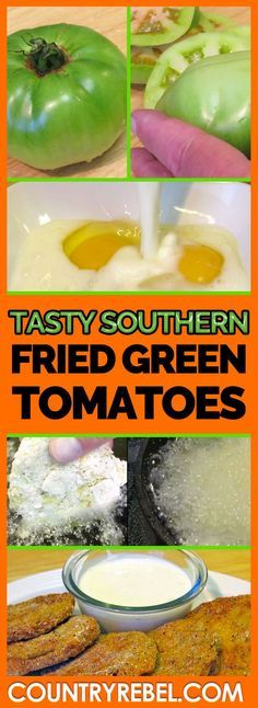 I absolutely love fried green tomatoes Incredible Tasty Southern Fried Green Tomatoes Recipe!