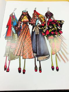 KENZO / Antonio Marras illustration
