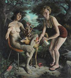 Erik Thor Sandberg's Surreal, Painted Narratives   Hi-Fructose Magazine