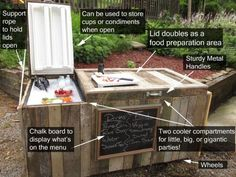 Build a Rustic Ice Cooler From Wood Pallets DIY Project