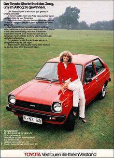 Toyota Starlet, Magazine Ad / Anzeige, AMS 1979 by Georg Schwalbach (GS1311), via Flickr