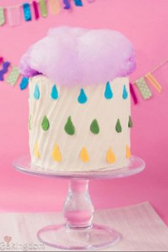 Rainy Day Cake