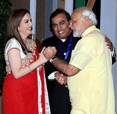 Prime Minister Narendra Modi being welcomed by Nita Ambani, Chairperson Reliance Foundation, and Mukesh Ambani at the re-dedication and inauguration of Mumbai's iconic Sir HN Reliance Foundation Hospital and Research Centre Very Beautiful Images, Beautiful Gif, Animals Beautiful, Having A Third Child, New Hd Pic, Nita Ambani, Sajid Khan, History Of India, Indian People