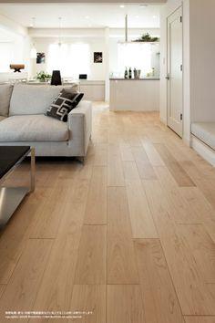 Wooden Floor Tiles, Wood Floor Design, Maple Floors, Living Room Wood Floor, Small Apartment Interior, Living Room Decor Cozy, Interior Design Kitchen, Living Room Designs, House Design