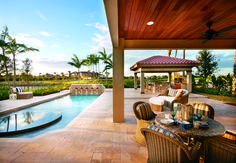 Outdoor living is easy at Parkland Golf and Country Club in Florida