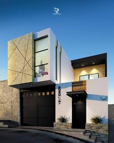 Tiny home designs ideas. Now, enable's discover 20 outstanding minimalist houses design, every one as fascinating in addition to inspiring as the adhering to. Modern Small House Design, Modern Villa Design, Home Modern, House Front Design, Minimalist House Design, Minimalist Home, Design Exterior, Facade Design, Modern Exterior House Designs