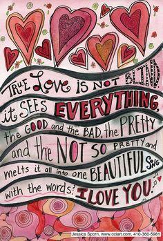 True Love Big by jessica.sporn, via Flickr