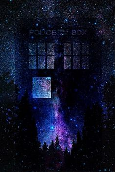In case any of you were in need of a TARDIS wallpaper Made by yours truly