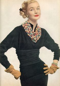 Sunny Hartnett (1924-1987) Vogue 1952
