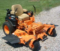 Scag mower just like mine. I love how reliable they are. Landscaping Equipment, Lawn Equipment, Outdoor Power Equipment, Lawn Care Business Cards, Zero Turn Lawn Mowers, Riding Mower, Backyard, Landscape, Outdoor Ideas