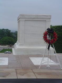 Tomb of the Unknown Soldier, Arlington Cemetary, Washington DCWhen we was therePresident Clinton layed the wreath on the unknown soldier
