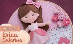 Curso online de Feltro: especial Érica Catarina – Bastidor de boneca