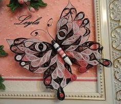 Cómo hacer mariposas con técnica de filigrana