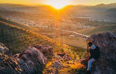 Toward the sunset in Mahabad, Kurdistan by Aziz Nasuti on Kurdistan, Landscapes, Sunset, Mountains, Nature, Colorful, Travel, Paisajes, Voyage