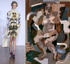 Basso & Brooke's cubo-futurism inspired collection
