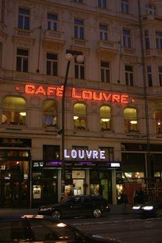 Café Louvre, Prague - French-style Louvre is arguably Prague's most amenable grand café