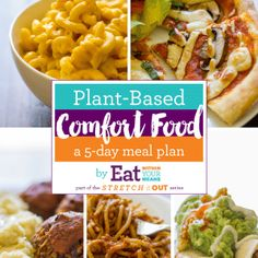 Plant-based comfort food your family will actually eat? This meal plan is the perfect way to help you get started! Plant Based Meal Planning, Plant Based Eating, Plant Based Diet, Plant Based Recipes, Healthy Foods To Eat, Healthy Snacks, Healthy Eating, Healthy Recipes, Healthy Dinners