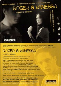 #Roger&Vanessa. Tom Hardy and Linda Park. Shared on #THDO